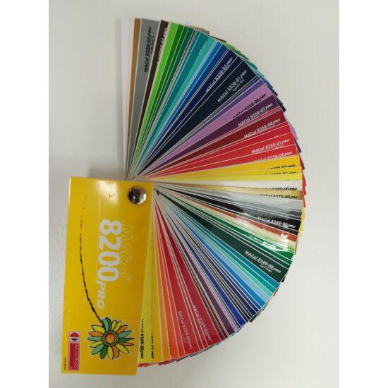 MACtac 8200 színkártya, legyezős