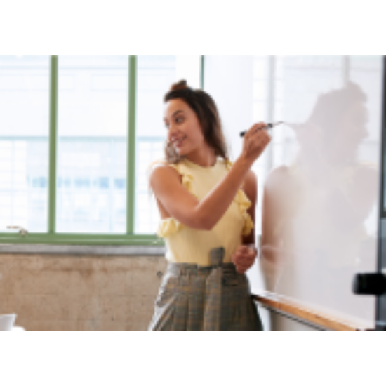 S-Easy Wall - Ferro whiteboard – Filccel írható, öntapadó vasfólia 500 mic