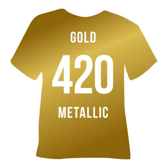 Ezüst / arany, textilre vasalható fólia