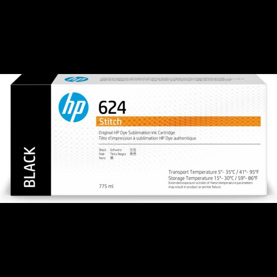 HP STITCH S300 - HP 624 szublimációs festék Black - 775 ml