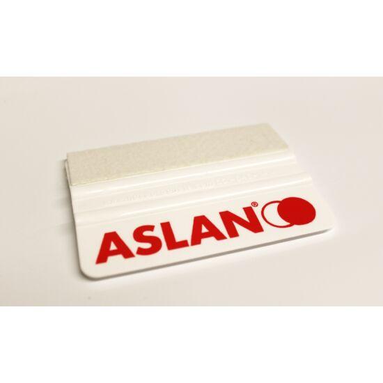 ASLAN fehér simító filcbevonattal - 10 cm