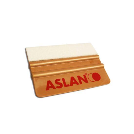 ASLAN arany simító filcbevonattal, rugalmas - 10 cm