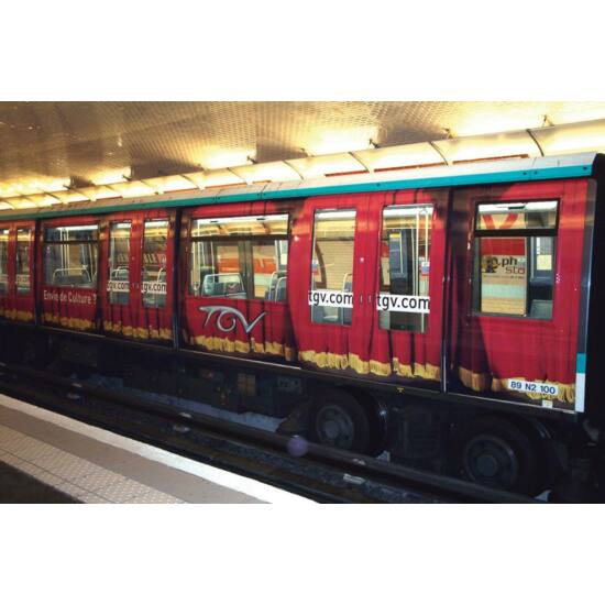 MACtac PG LUV 7036 Anti-graffiti fólia: fényes antigraffiti lamináló fólia