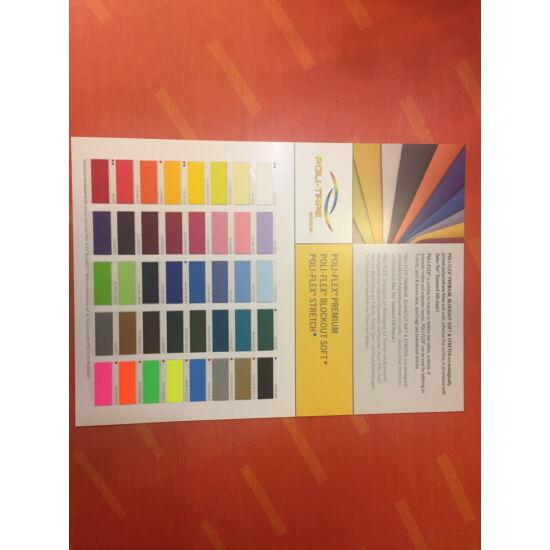 PoliTape Flex Prémium színkártya A4