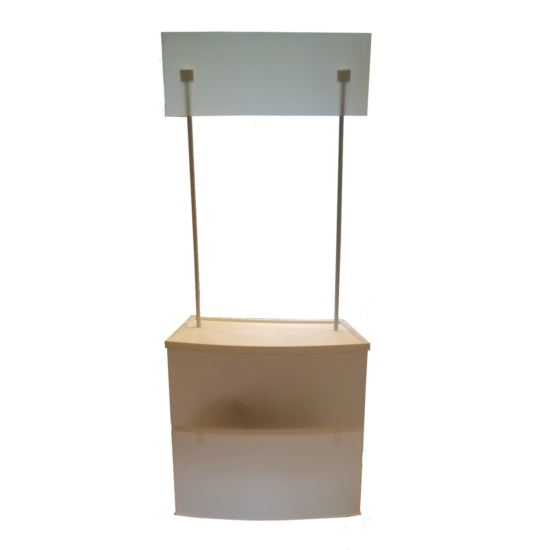 Replace- Promóciós kínáló pult 200x80