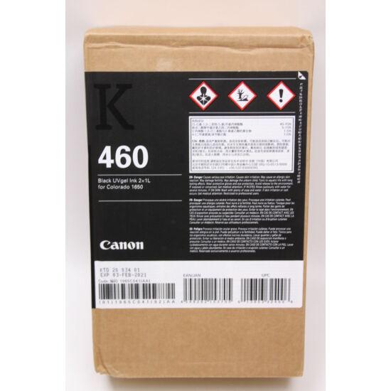 Colorado 1650 - UV gél 460 festék Black - 2x1 liter